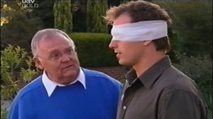 Harold Bishop, Stuart Parker in Neighbours Episode 4638