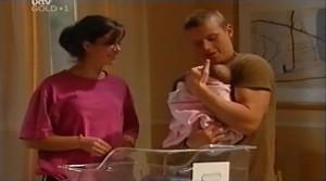 Kayla Thomas, Boyd Hoyland, Ashley Thomas in Neighbours Episode 4764
