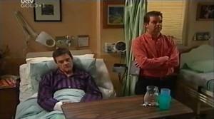 Paul Robinson, David Bishop in Neighbours Episode 4765