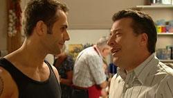 Adam Rhodes, Allan Steiger in Neighbours Episode 5243