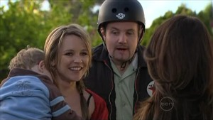 Charlie Hoyland, Steph Scully, Toadie Rebecchi, Libby Kennedy in Neighbours Episode 5346