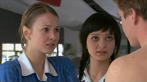 Jessica Wallace, Taylah Jordan, Ringo Brown in Neighbours Episode 5346