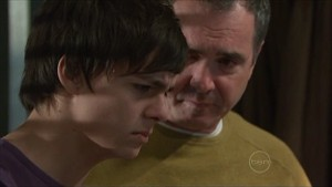Zeke Kinski, Karl Kennedy in Neighbours Episode 5349