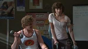 Josh Taylor, Bridget Parker in Neighbours Episode 5350