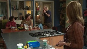 Bridget Parker, Ned Parker, Mickey Gannon, Steve Parker, Miranda Parker in Neighbours Episode 5351