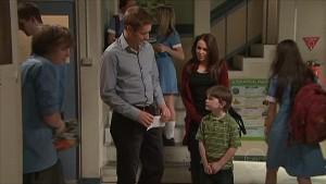 Dan Fitzgerald, Libby Kennedy, Ben Kirk in Neighbours Episode 5351