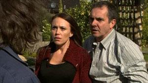 Darren Stark, Libby Kennedy, Karl Kennedy in Neighbours Episode 5352