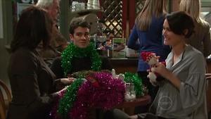 Rosie Cammeniti, Frazer Yeats, Carmella Cammeniti in Neighbours Episode 5354