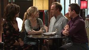 Rebecca Napier, Elle Robinson, Brad Jordan, Paul Robinson in Neighbours Episode 5354