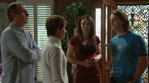 Karl Kennedy, Susan Kennedy, Libby Kennedy, Darren Stark in Neighbours Episode 5354