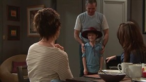 Susan Kennedy, Karl Kennedy, Ben Kirk, Libby Kennedy in Neighbours Episode 5356