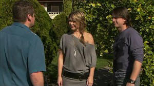 Toadie Rebecchi, Steph Scully, Darren Stark in Neighbours Episode 5356
