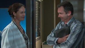 Dr. Peggy Newton, Karl Kennedy in Neighbours Episode 5359