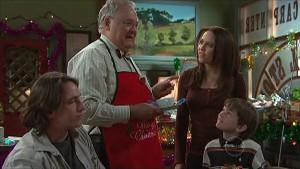 Darren Stark, Harold Bishop, Libby Kennedy, Ben Kirk in Neighbours Episode 5360