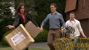 Rebecca Napier, Paul Robinson, Oliver Barnes in Neighbours Episode 5360