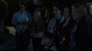 Ned Parker, Mickey Gannon, Janae Hoyland, Miranda Parker, Darren Stark, Ben Kirk, Libby Kennedy, Steph Scully in Neighbours Episode 5360