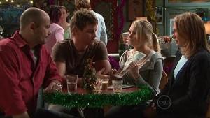 Steve Parker, Ned Parker, Janae Timmins, Miranda Parker in Neighbours Episode 5363