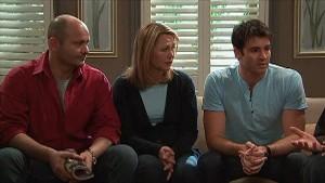 Steve Parker, Miranda Parker, Frazer Yeats in Neighbours Episode 5363