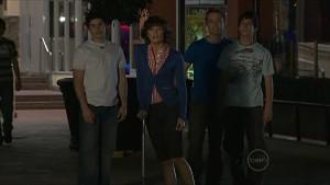 Declan Napier, Bridget Parker, Ringo Brown, Zeke Kinski in Neighbours Episode 5363
