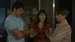 Frazer Yeats, Rosie Cammeniti, Prue Brown in Neighbours Episode 5438