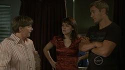 Prue Brown, Rosie Cammeniti, Dan Fitzgerald in Neighbours Episode 5438
