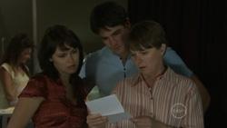 Rosie Cammeniti, Frazer Yeats, Prue Brown in Neighbours Episode 5438