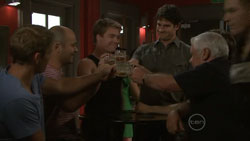 Dan Fitzgerald, Steve Parker, Ringo Brown, Frazer Yeats, Lou Carpenter in Neighbours Episode 5440