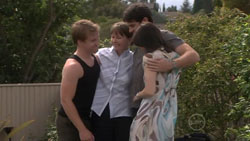 Ringo Brown, Prue Brown, Frazer Yeats, Rosie Cammeniti in Neighbours Episode 5440