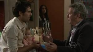 Marco Silvani, Chloe Cammeniti, Carmella Cammeniti, Franco Silvani in Neighbours Episode 5481