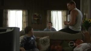 Callum Jones, Toadie Rebecchi, Dan Fitzgerald in Neighbours Episode 5484