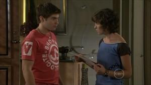 Declan Napier, Bridget Parker in Neighbours Episode 5489