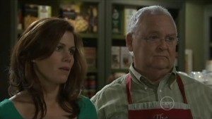 Rebecca Napier, Harold Bishop in Neighbours Episode 5491