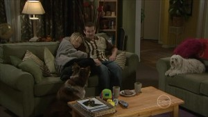 Harvey, Steph Scully, Toadie Rebecchi, Bob in Neighbours Episode 5498