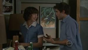 Bridget Parker, Declan Napier in Neighbours Episode 5500