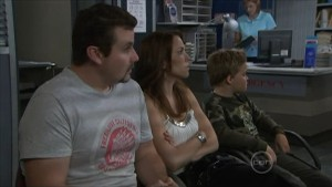 Toadie Rebecchi, Libby Kennedy, Callum Jones in Neighbours Episode 5500