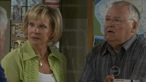 Kate Newton, Harold Bishop in Neighbours Episode 5500