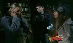 Donna Freedman, Declan Napier, Rachel Kinski in Neighbours Episode 5531