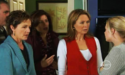 Karl Kennedy, Susan Kennedy, Rebecca Napier, Miranda Parker, Nicola West in Neighbours Episode 5531