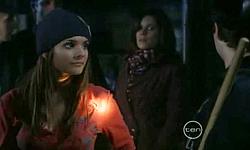 Rachel Kinski, Rebecca Napier, Declan Napier in Neighbours Episode 5531