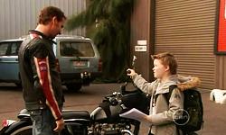 Lucas Fitzgerald, Callum Jones in Neighbours Episode 5531