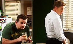 Toadie Rebecchi, Dan Fitzgerald in Neighbours Episode 5536