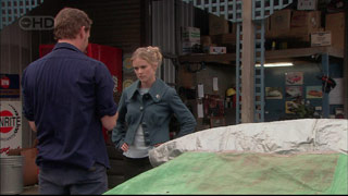 Lucas Fitzgerald, Elle Robinson in Neighbours Episode 5566