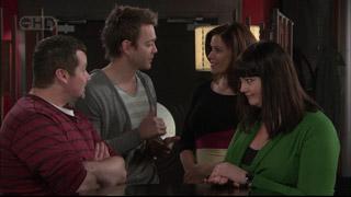 Toadie Rebecchi, Shane Dooley, Rebecca Napier, Kelly Katsis in Neighbours Episode 5568