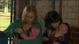 Donna Freedman, Bridget Parker in Neighbours Episode 5572