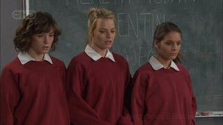 Bridget Parker, Donna Freedman, Rachel Kinski in Neighbours Episode 5573