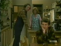 Max Ramsay, Madge Bishop, Danny Ramsay in Neighbours Episode 0182