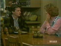 Danny Ramsay, Madge Mitchell in Neighbours Episode 0182