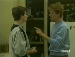 Danny Ramsay, Clive Gibbons in Neighbours Episode 0182