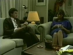 Paul Robinson, Zoe Davis in Neighbours Episode 0183