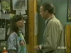 Zoe Davis, Jim Robinson in Neighbours Episode 0183